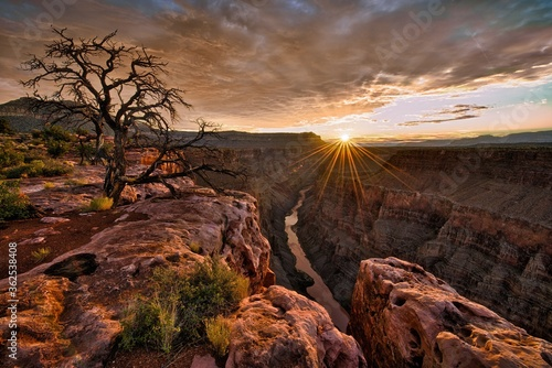 Fototapeta Scenic view of Grand Canyon, Arizona - perfect for wallpaper obraz