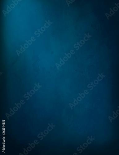Fototapeta background dark blue watercolor wall for design  obraz na płótnie
