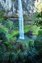 Base Of Bridal Veil Falls New ...