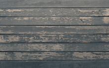 Old Wood Planks With Peeling P...
