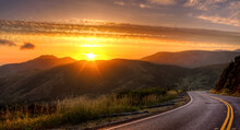 Sunset In Marin County, Califo...