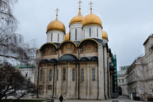 Cathedral Of The Annunciation In Moscow