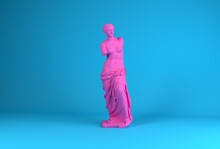 3D Rendering Of Venus De Milo,...