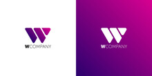 Letter W Abstract Logo Symbol....