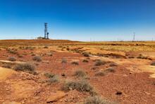 Scenic View Of Arid Landscape ...