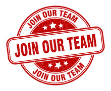 Join Our Team Stamp. Join Our ...