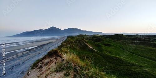 Obraz na plátně Scenic View Of Sea Against Clear Sky