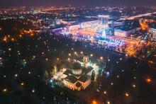 Gomel, Belarus. Main Christmas...