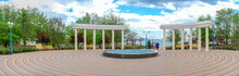 Seaside Park In The City Of Yuzhne, Ukraine