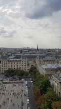 High Angle View Of City Buildi...