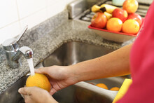 Cleaning Of Fruits And Vegetables By Coronavirus