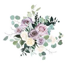 Dusty Violet Lavender, Mauve A...