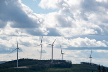 A Wind-power Station On The ...