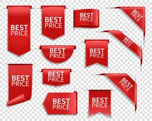 Best Price Red Ribbons And Ban...