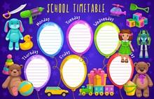 School Timetable, Kids Educati...