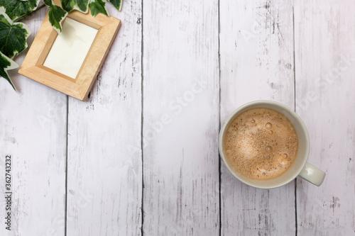 コーヒー 休憩 モーニング カフェ ドリンク Fototapet