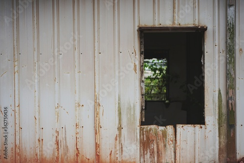 Photo Exterior Of Old Abandoned Building