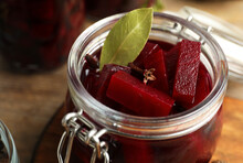 Delicious Pickled Beets In Jar...