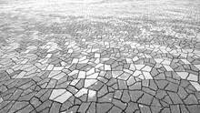 Paving Stones Texture Walkway Weathered Outdoor
