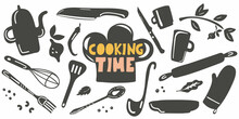 Coocking Time. Lettering With ...