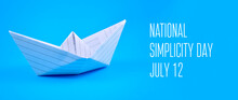 National Simplicity Day Stock ...