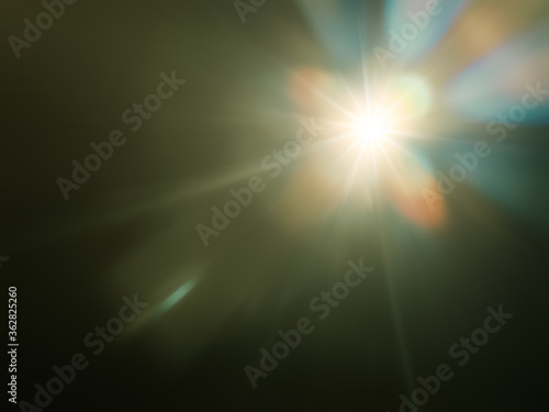 Obraz strange light flare background - fototapety do salonu