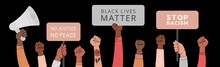 Black Lives Matter Horizontal ...