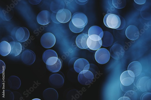 Foto Defocused Image Of Illuminated Lights