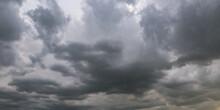 Panorama Of Black Sky Backgrou...