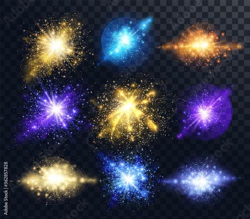 Obraz Light effect of glow - fototapety do salonu