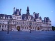 The city hall of Paris, in the end of the day.. July 2020;