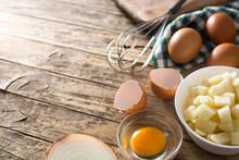 Spanish Omelette Tortilla Ingr...