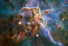 Hubble Image Of The  Eagle Neb...