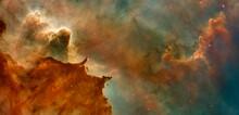 Hubble Image Of The  Eagle Neb...
