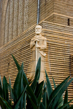Sculptures Outside The Voortrekker Monument In Pretoria, South Africa