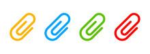 Paper Clip Icon. Vector Paper ...