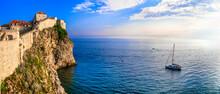 Croatia Travel. Ancient Dubrov...