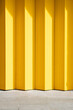 Yellow Industrial Shutters