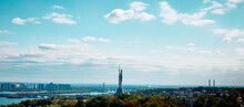 City Skyline View Of Kyev, Ukr...