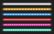Led Strips With Neon Glow Effe...