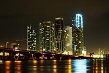 Miami Skyline Panorama After S...