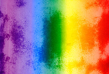 LGBT. The Rainbow Is On Texture. Template. Content For The Designer.