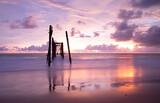 Fototapeta Kawa jest smaczna - Scenic View Of Sea Against Sky During Sunset