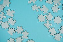 Random White Jigsaw Puzzle Inc...