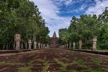 Phanom Rung Historical Park ,Buriram ,Thailand