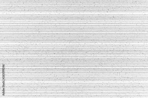 Fotografia, Obraz Modern white stone wall with stripes texture and seamless background