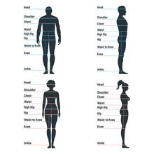 Male And Female Size Chart Ana...