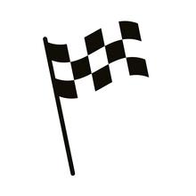 Finish Checkered Flag Silhouet...