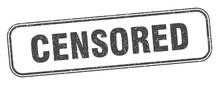 Censored Stamp. Censored Squar...