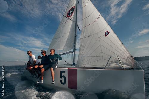 Luxury yachts at Sailing regatta Fototapete